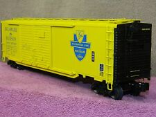 LIONEL SCALE #6-17755 DELAWARE & HUDSON 50FT DD BOX CAR w/AUTO FRAME LOAD NIB