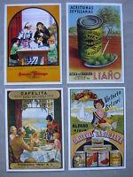 Cartes postales publicité ancienne non circulée  conserve, olives, bière et café