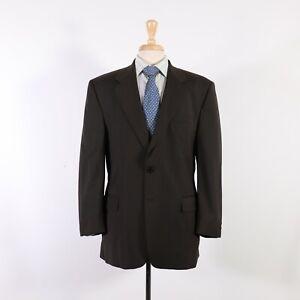Kilgour French Stanbury 40R Green Check Wool Two Button Sport Coat Blazer Jacket