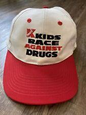 Vintage 90s Kmart Kids Race Against Drugs Snapback Hat Cap