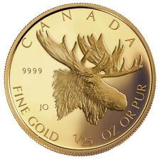 2004 Canada 1/25th oz. Gold Coin - Moose