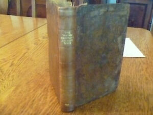 1813 The Housekeeper's Receipt Book, 1st edition, sold by Oddy and Wallis. RARE
