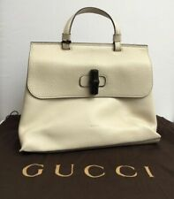 GUCCI Bamboo Daily leather top handle bag