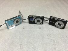 New ListingLot of 3 Panasonic Lumix Point and Shoot Digital Cameras: Dmc-Fs3 -Fs7 -Fh20