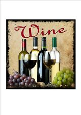 Wine Lovers Sign Vintage Style Wine Sign Bar Bistro Pub Sign Wall Plaque