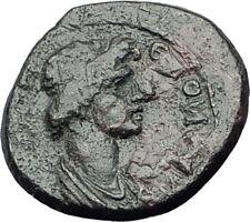Hermocapelia in Lydia 117AD Emp HADRIAN Time Greek Coin ROMAN SENATE ROMA i65047