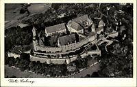 Veste Coburg Bayern alte Ansichtskarte ~1940 Blick auf die Festung Luftaufnahme