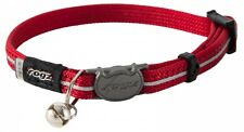 ROGZ Alleycat Safelock Collar Red 11mm