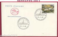 ITALIA FDC CAVALLINO BATTAGLIA DI BEZZECCA 1986 TORINO Y442