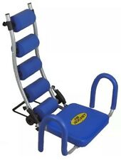 Ab Rocket Abdominal Trainer Ab Workout Cruncher Exercise Equipment Blue NEW!