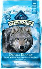 Blue Buffalo Wilderness Grain Free Natural Denali Dinner with Salmon, Venison &