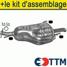 Complet système d/'échappement KIT DE MONTAGE OPEL ASTRA G 1.4 1.6 berline 1998-2005