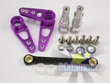 GPM # 143R ~ Red Aluminum Rear Arm Brace for Hpi XS Flux