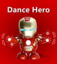 """Marvel Iron Man Tony Stark 7"""" Avengers 1/10 Action Figure Model Dance Toy Gift"""