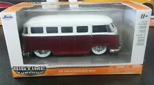 BIG TIME MUSCLE '62 VOLKSWAGEN BUS 1:32 DIE CAST METAL