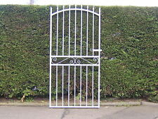 Strong tall garden side gate  1800 mm tall  914 mm wide opening galvanized L/H