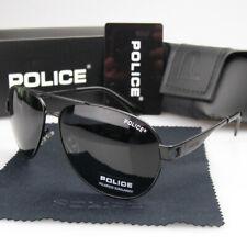 Новые мужские женские поляризованные солнцезащитные очки металл спорт ретро полицейские водительские очки P
