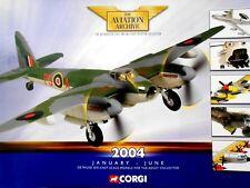 Corgi Aviation Archive CATALOGUE January - June 2004 aircraft ww2 planes