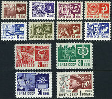 Russia 3470-3481, Mint. Definitive, engraved, 1968