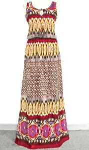 NWT Long Tall Sally Dress African Tribal Print Boho Summer Holiday Maxi  12