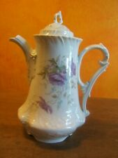 ancienne cafetière ALTWASSER CT ( Carl Tiesch ) porcelaine