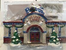 Dept 56 Snow Village® Bowling Alley - Brand New Still In Plastic