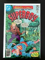 ADVENTURE COMICS PRESENTS: SUPERBOY #455 DC COMICS 1978 VF+ NEWSSTAND EDITION