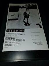 Chris Whitley Big Sky Country Rare Original Radio Promo Poster Ad Framed! #3