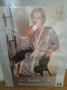 Damen Morgenmantel Hausmantel Bademantel Satin Robe 40/42