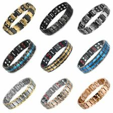 Strong Magnetic Bracelets Titanium Therapy Bracelets for Men Arthritis Relief