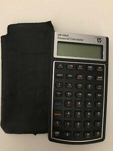 Vintage HP 10bII Financial Calculator Hewlett Packard Tested Working
