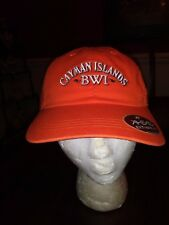 Cayman Islands British West Indies Ball Cap in Orange One Size Adult New