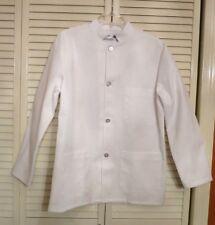 Chef Designs Restaurant Chef Coat Jacket Men's Military Buscoat Line Cook Size S