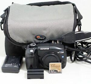 Olympus E-330 7.5MP Digital SLR Camera Body ONLY 5K SHUTTER COUNT E330