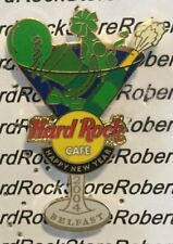 2004 HARD ROCK CAFE BELFAST HAPPY NEW YEAR MARTINI GLASS LE PIN