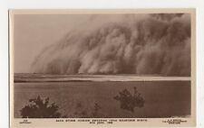 Sudan, Sand Storm Sweeping Over Khartoum 1906 RP Postcard, B162