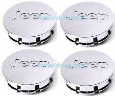2007-2010 Jeep Wangler Grand Cherokee Patriot Wheel center caps CHROME 55mm