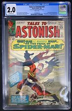Tales to Astonish #57 CGC 2.0  7/64 3758590018 - Early Spider-Man appearance