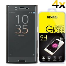 [4x] KHAOS HD Tempered-Glass Screen Protector Guard For SONY XZ Premium