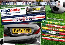 World Cup 2018 Clip2plate Car Number Plate Badge