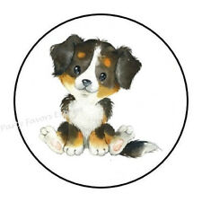 """30 Bernese Mountain Dog Envelope Seals Labels Stickers Party Favors 1.5"""" Round"""
