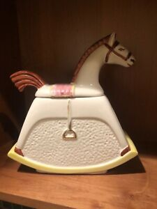 Abingdon Rocking Horse Cookie Jar