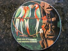 """Walt Disney Parks, NEW 7"""" Ceramic Plate, Featuring - The Enchanted Tiki Room,"""