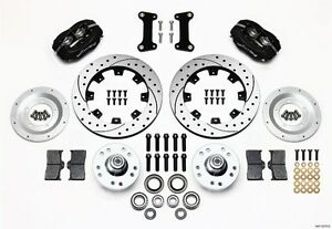 1982-1992 Chevrolet Camaro Wilwood Dynalite Front Big Brake Kit,Drilled Rotors