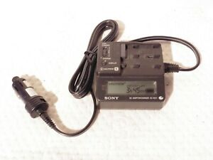 SONY DC-VQ11 Camcorder video camera DC Adaptor Car charger NP-FS20 NP-FS21 FS22