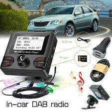 USB Auto DAB Radio Bluetooth FM Transmitter Empfänger Adapter Freisprechanlage