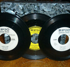 """*<* 3 SCARCE SAL MINEO 45s w/2 PROMOS: """"PARTY TIME, BABY FACE, & LITTLE PIGEON""""!"""