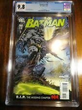 Batman #702 Morrison CGC 9.8 NM/M Tony Daniel Justice League 1st Pr Detective DC