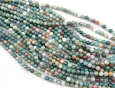Wholesale India agate Gemstone Round Loose Beads Jewelry 6mm 15""
