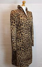 DOLCE & GABBANA Leopard Printed Trench COAT / JACKET  IT 44 - UK 12 - US 8